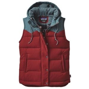 RARE Patagonia Bivy Down Hooded Vest